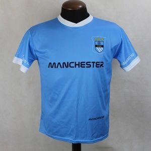 Other - Manchester Aguero 10 Team Soccer Jersey Shirt